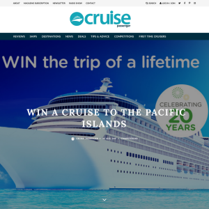 Win a Cruise to the Pacific Islands