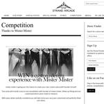 Win a custom denim experience with 'Mister Mister'!