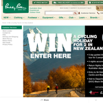 Win a cycling trip for 2 in New Zealand!