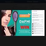 Win a Dafni hair straightener for you & a friend!