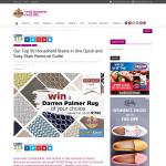 Win a 'Darren Palmer' rug of your choice!