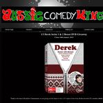 Win a Derek Series 1 & 2 Boxset DVD