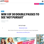 Win a Double Pass to Hot Pursuit
