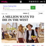 Win a Double Pass to Million Ways to Die in the West