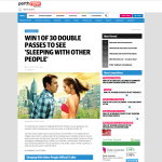 Win a Double Pass to 'Sleeping With Other People'