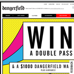 Win a double pass to Stereosonic + airfares & a $1,000 Dangerfield wardrobe!