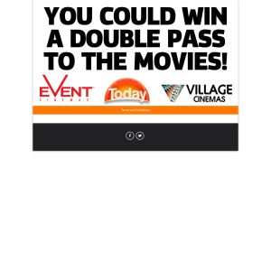 Win a double pass to the movies
