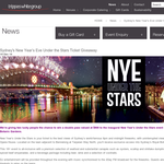 Win a double pass valued at $800 to the inaugural New Year?s Under the Stars event in Sydney?s Royal Botanic Gardens!