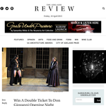 Win A Double Ticket To Don Giovanni Opening Night