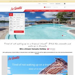 Win a dream Vanuatu holiday!