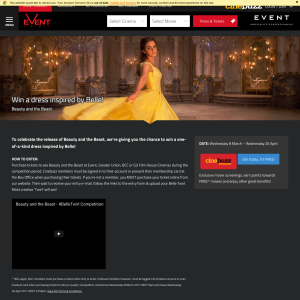 Win a dress inspired by Belle from 'Beauty & the Beast'! (Purchase Required - Excludes VIC & TAS Residents)
