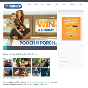 Win a Family Parks gift voucher