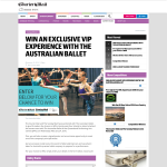 Win a family pass (four tickets) to attend a behind the scenes event with The Australian Ballet at the Queensland Performing Arts Centre