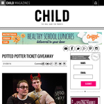 Win a Family Pass to Potted Potter