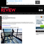 Win a Family Pass to the Eureka Skydeck