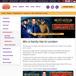 Win a family trip to London!