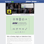 Win a fantasy night on Valentine's Day!