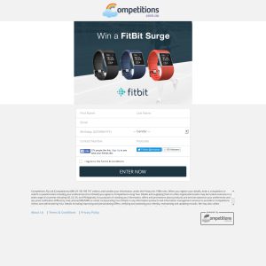 Win a FitBit Surge