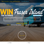 Win a Fraser Island Experience