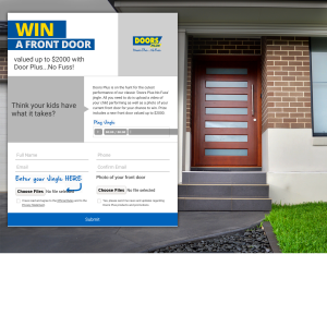 Win a Front Door Package