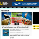 Win a Galapagos Island adventure for 2!