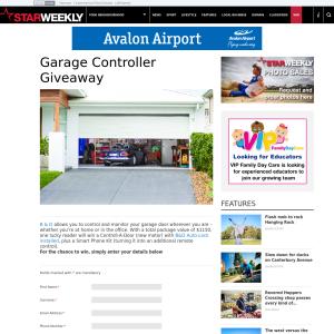 Win a Garage Controller