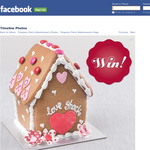 Win a Gingerbread Love Shack valued at $24!