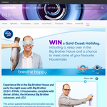 Win a Gold Coast holliday, including a sleepover in the Big Brother house!