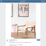 Win a gorgeous 'Smith' chair from Barnaby Lane, valued at $849!