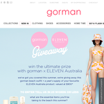 Win a Gorman beach outfit + a year's supply of your favourite 'ELEVEN Australia' product!