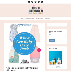 Win a Gro Company Baby Prize Pack