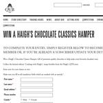 Win a Haigh's Chocolate 'Classics' hamper!