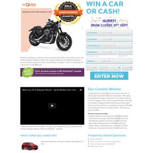 Win a Harley Davidson!