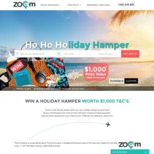 Win a ho ho holiday hamper worth $1,000!