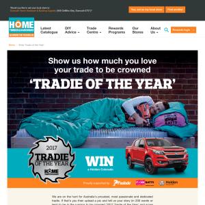 Win a Holden Colorado