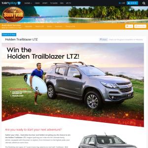 Win a Holden Trailblazer LTZ