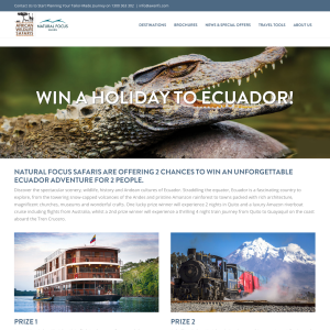 Win a Holiday to Ecuador