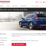 Win a Honda CR-V Series II!