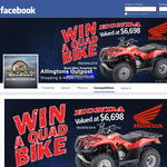 Win a Honda TRX 250 4x2 quad bike!