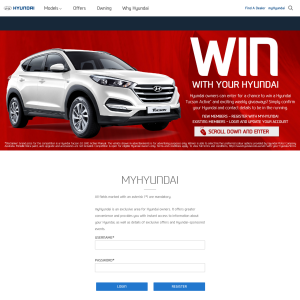 Win a Hyundai Tucson + MORE!