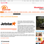 Win a 'Jetstar' family reunion!