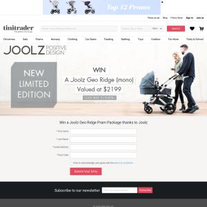 Win a Joolz 'Geo Ridge' pram package!
