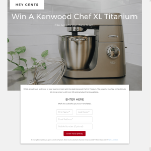 Win A Kenwood Chef XL Titanium