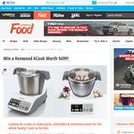 Win a Kenwood kCook Worth $699!