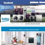 Win a kitchen appliance package valued at $4,650!