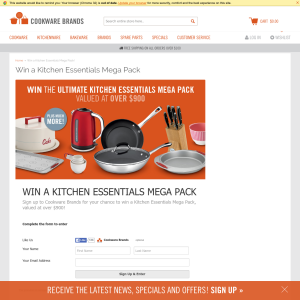 Win a kitchen essentials mega pack!