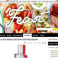 Win a Kitchenaid Artisan Food Processor