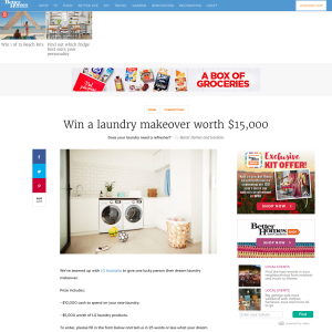 Win A Laundry Makeover