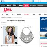 Win a Lazurah Taila Necklace
