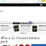 Win a Le Creuset kitchen pack!
